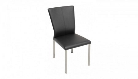 R Stuhl ALEXA Textilleder schwarz