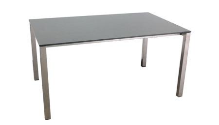 HPL Table à rallonge 95 x 150 cm en 2 couleurs