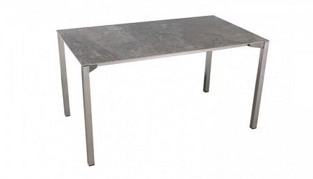 Q Table de jardin céramique 140 x 80 cm